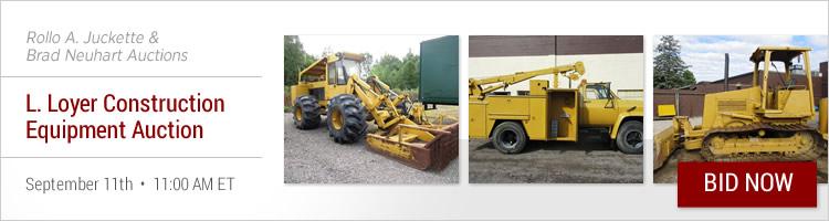 Heavy Construction Equipment Auctions Online   Proxibid