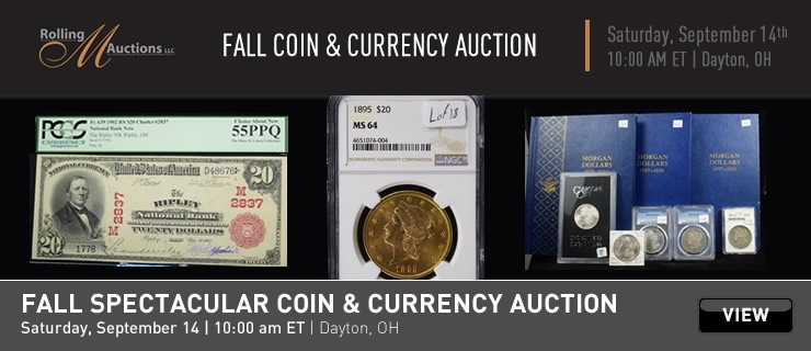 Coins & Currency Auctions Online | Proxibid