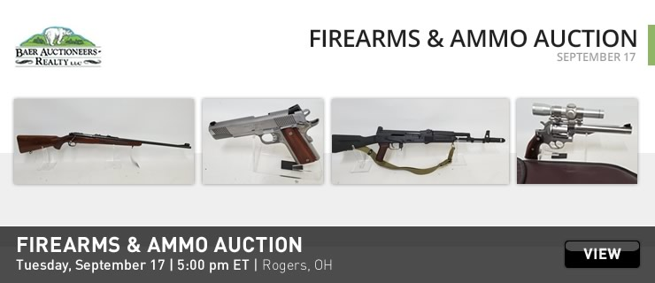 Firearms & Military Artifacts Auctions Online | Proxibid