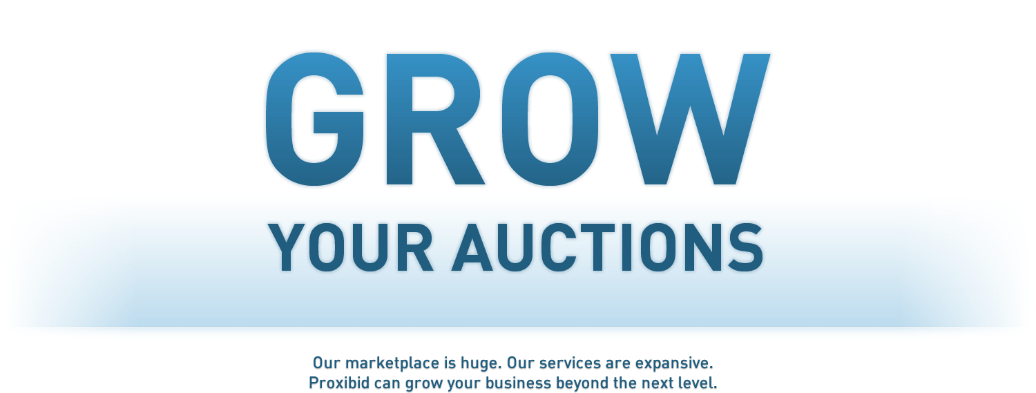 Grow your auctions!